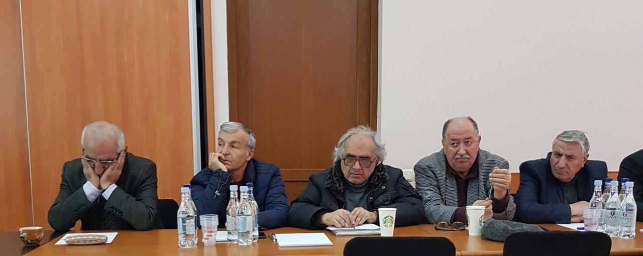 Հանդիպում հրատարակիչների հետ